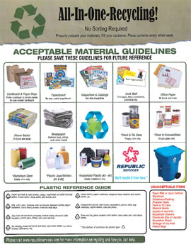 Acceptable Material Guidelines